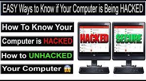 How to Know If a Hacker is on Your Computer