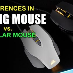 Differences in Gaming Mouses Vs. Regular
